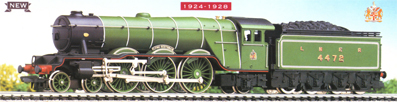 Class A1 Locomotive - Flying Scotsman - 1924 - 1928