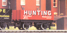 Hunting Of Worcester 7 Plank Open Wagon