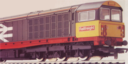Class 58 Diesel Electric Locomotive - Railfreight