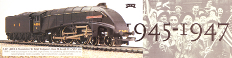 Class A4 Locomotive - Sir Ralph Wedgwood 1945-1947