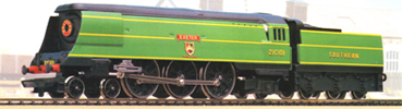West Country Class Locomotive - Exeter