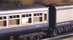 Two B.R. Mk.2A Open Coaches And B.R. Mk.2A Brake Coach - Flying Scotsman Enterprises