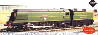 West Country Class Locomotive - Bideford