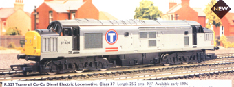 Class 37 Co-Co Diesel Electric Locomotive