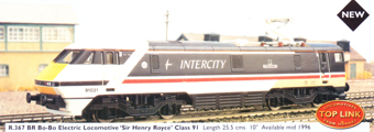 Class 91 Bo-Bo Electric Locomotive - Sir Henry Royce