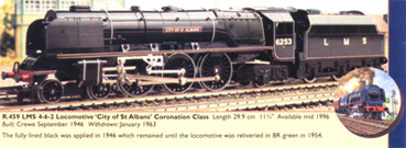 Coronation Class Locomotive - City Of Saint Albans (Royal Doulton)