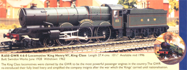 King Class Locomotive - King Henry VI (Royal Doulton)