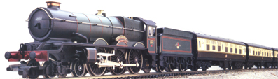 Cornish Riviera Express Train Set