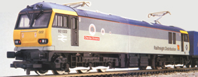 Class 92 Co-Co Electric Locomotive - Charles Dickens