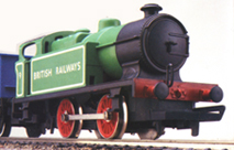 0-4-0T Industrial Locomotive