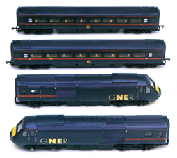 GNER 125 High Speed Train