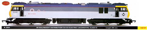 Class 92 Electric Locomotive - Britten