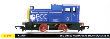 ECC Quarries Diesel Mechanical Shunter