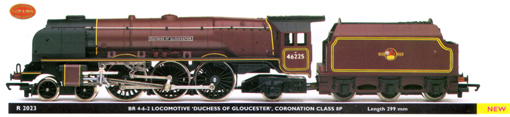 Coronation Class 8P Locomotive -  Duchess Of Gloucester