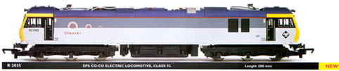 Class 92 Electric Locomotive - Chaucer