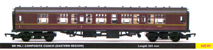B.R. Mk.1 Composite Coach (Eastern Region)