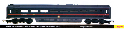 GNER Mk.3a First Class Buffet Car (Trailer Buffet First)