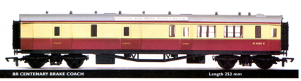 B.R. Centenary Brake Coach (ex-G.W.R.)