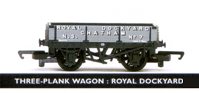 Royal Dockyard Chatham 3 Plank Wagon