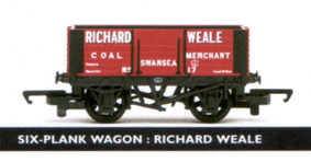 Richard Weale 6 Plank Wagon