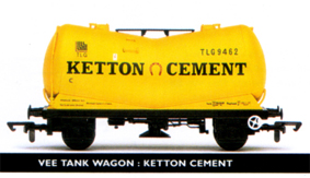 Ketton Cement Vee Tank Wagon