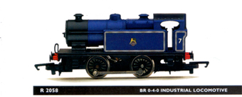 0-4-0 Industrial Locomotive