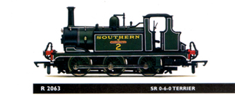 0-6-0 Terrier Locomotive