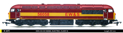 Class 56 Diesel Electric Locomotive