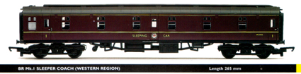 B.R. Mk.1 Sleeper Coach (Western Region)