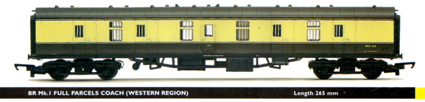 B.R. Mk.1 Full Parcels Coach (Western Region)