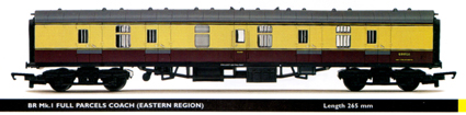 B.R. Mk.1 Full Parcels Coach (Eastern Region)