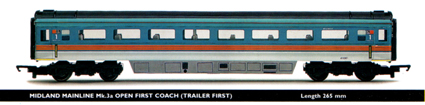 Midland Mainline Mk.3a Open First Coach (Trailer First)