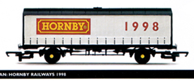 Hornby Railways 1998 Curtain Sided Van