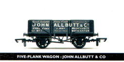 John Allbutt & Co 5 Plank Wagon