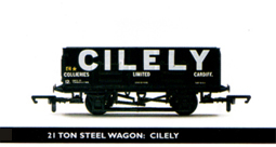 Cilely 21 Ton Steel Wagon