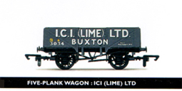 ICI (Lime) Ltd 5 Plank Wagon