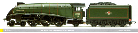 Class A4 Locomotive - Golden Fleece