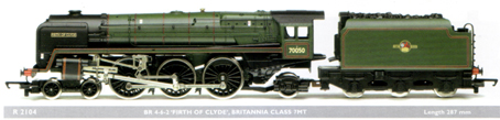 Britannia Class 7MT Locomotive - Firth Of Clyde