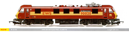 Class 90 Electric Locomotive - Sir Michael Heron
