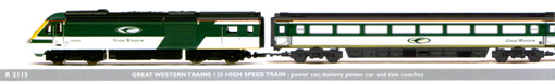 Great Western Trains 125 High Speed Train (Class 43)