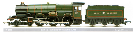 King Class Locomotive - King Henry VII
