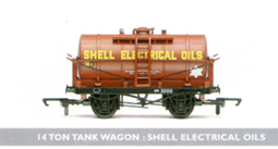 Shell Electrical Oils 14 Ton Tank Wagon