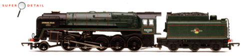 Class 9F Locomotive - Evening Star - Fortieth Anniversary 1960-2000