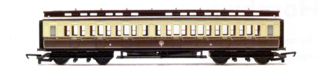 G.W.R. Clerestory 3rd Coach