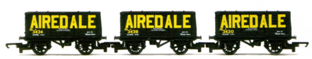Airedale End Tipping Wagon - Three Wagon Pack