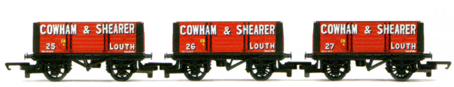 Cowham & Shearer 7 Plank Wagon - Three Wagon Pack