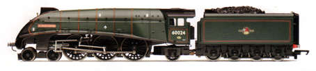 Class A4 Locomotive - Kingfisher