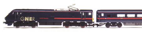 GNER 225 Train (Class 91 - Scottish Enterprise)