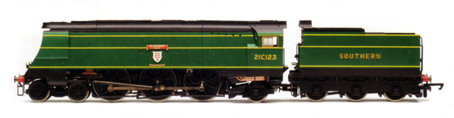 West Country Class Locomotive - Blackmoor Vale