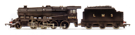 Class 8F Locomotive (Weathered)